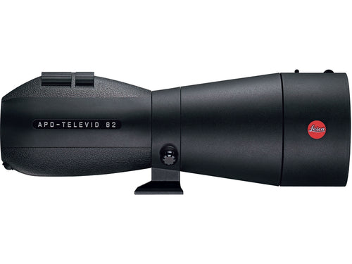 The Leica APO-Televid 82mm straight spotting scope body was made to be used in all weather conditions.