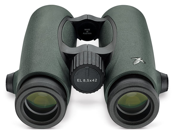 The Swarovski 10x42 EL features 20 mm of eye relief, making it one of the best binoculars for people who wear glasses.