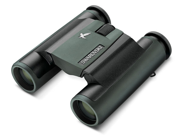 The Swarovski 8x25 CL Pocket Green is one of the best compact binoculars for birders due to its amazingly bright and sharp images.