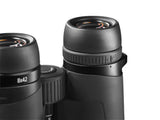 The 18 mm eye relief makes the Zeiss 8x42 Conquest HD a great binocular for people who wear glasses.