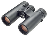 The Opticron 8x32 Traveller binocular has a wide 429 foot field of view at 1000 yards, making it one of the best mid-priced binoculars for birders.