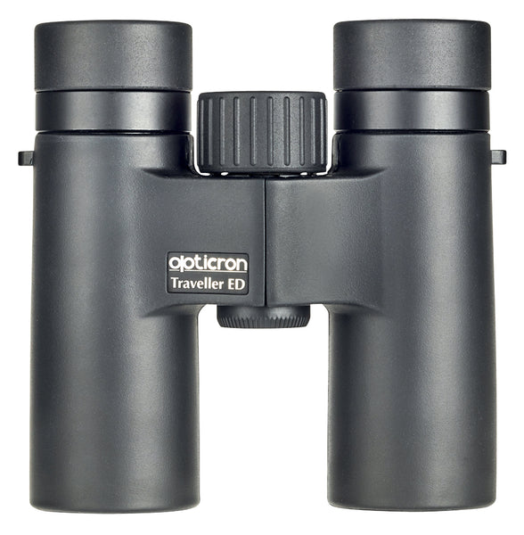The Opticron 8x32 Traveller has a 19 mm eye relief, which makes it a great binocular for people who wear glasses.