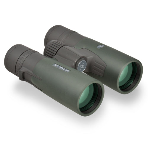 The Vortex Razor HD 8x42 offers a wide field of view and a tight close focus, making it one of the best binoculars for the money.