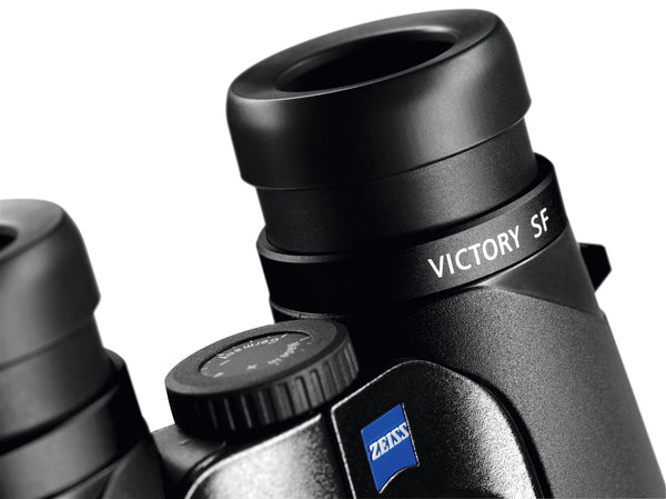 The Zeiss 10x42 Victory SF binocular has an 18 mm eye relief, making it a perfect binocular for people who wear glasses.