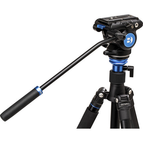 Shop the Benro S4Pro Fluid Video Head for spotting scopes at Redstart Birding.