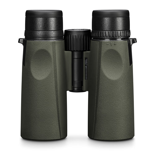 The Vortex Viper HD 10x42 binocular features ergonomic grips to enhance your birding experience.