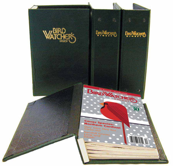 Bird Watcher's Digest Magazine Binder