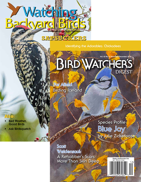 Bird Watcher's Digest & Watching Backyard Birds Combo Subscription