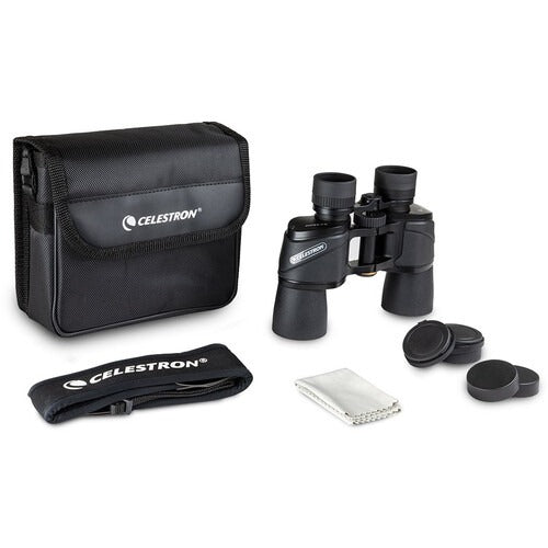 Shop the Celestron 8x42 Ultima Porro prism binocular under $500 at Redstart Birding.