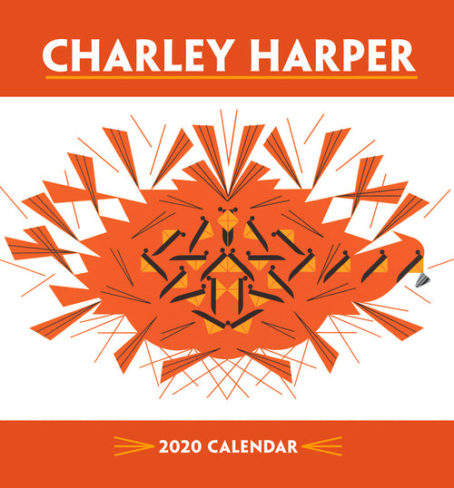Shop the Charley Harper 2020 Mini Wall Calendar at Redstart Birding.