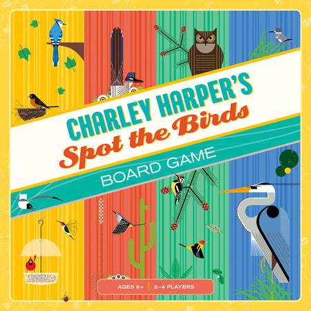 Charley Harper's Birds Sticker Book