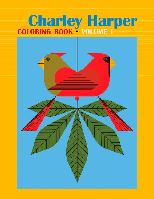 Shop for Charley Harper Coloring Book: Volume 1 at Redstart Birding.
