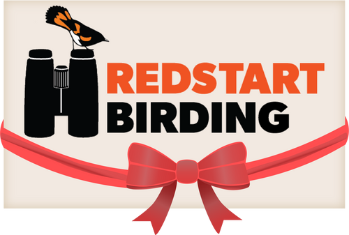 Buy a Redstart Birding gift card for the birder in your life.