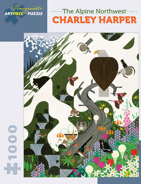 Charley Harper Mystery of the Missing Migrants Puzzle