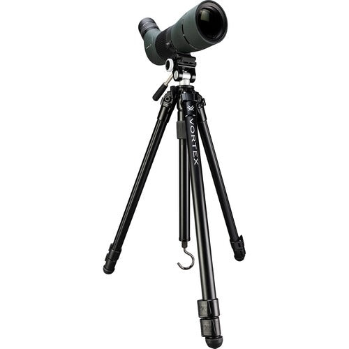 Get the Vortex High Country II Aluminum Tripod Kit for birding scopes at Redstart Birding.