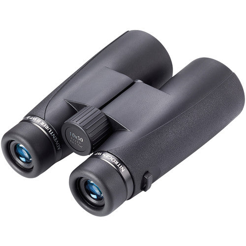 Shop the Opticron 10x50 Adventurer II WP binocular for bird watching at Redstart Birding.