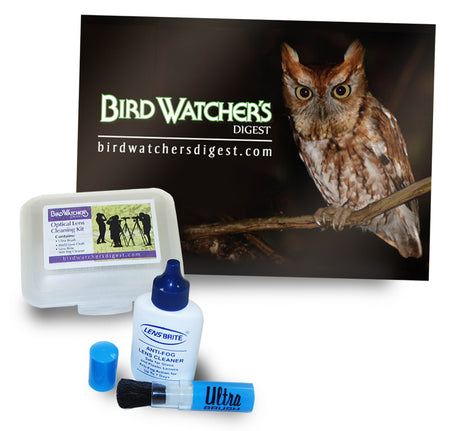 BWD Lens Cloth - Eastern Screech-Owl