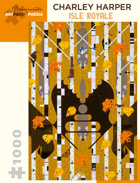 Charley Harper Isle Royale Puzzle
