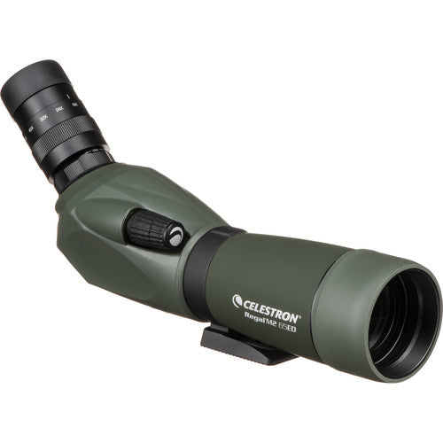 Shop the Celestron Regal M2 65ED Spotting Scope with 16-48x Eyepiece at Redstart Birding.