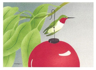 Hummingbird Holiday Cards