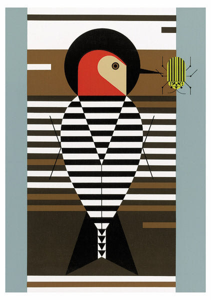 Charley Harper Woodpeckers Notecard Folio