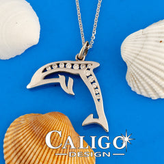 gold and diamond dolphin pendant dolphin jewelry