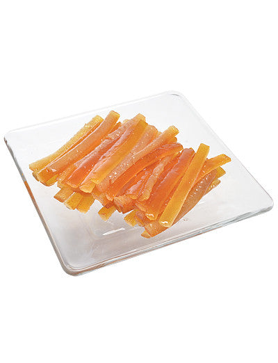 Candied Orange Peel Strips