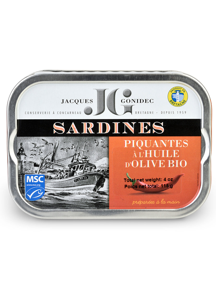Sardines with Chile from Les Mouettes d'Arvor