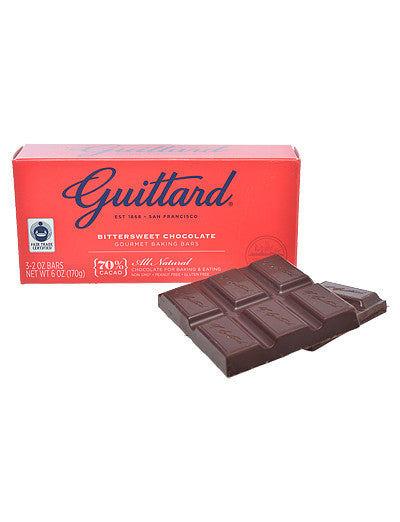 Bittersweet Chocolate Baking Bars from Guittard