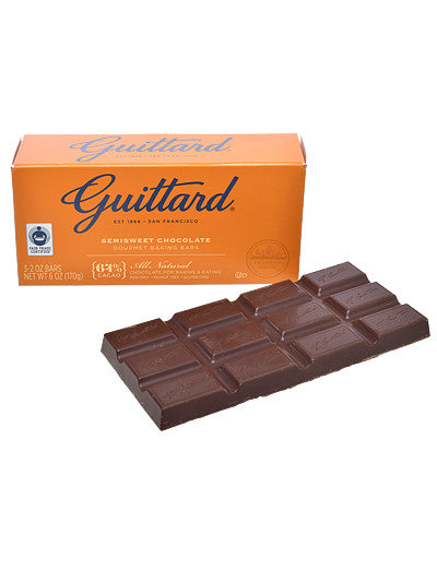 Semisweet Chocolate Baking Bars from Guittard