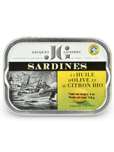 Sardines with Lemon from Les Mouettes d'Arvor