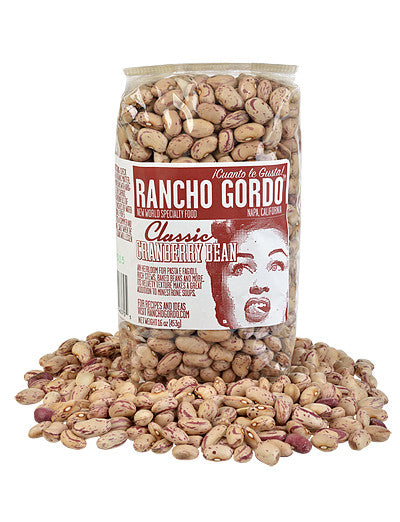 Cranberry Beans from Rancho Gordo