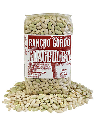 Flageolet Beans from Rancho Gordo