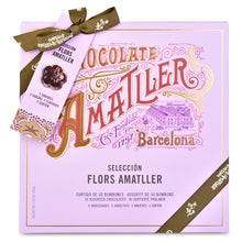 Assorted Chocolate Gift Box from Chocolate Amatller - Front of Box