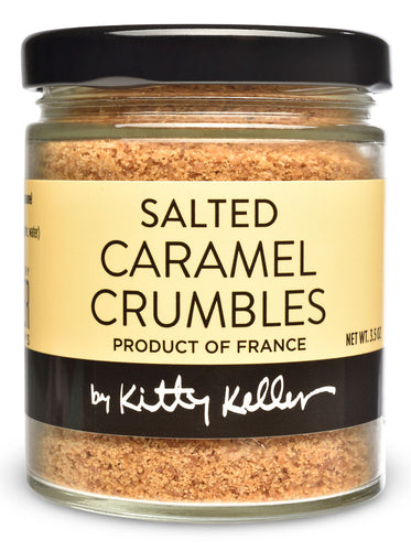 French Salted Caramel Crumbles