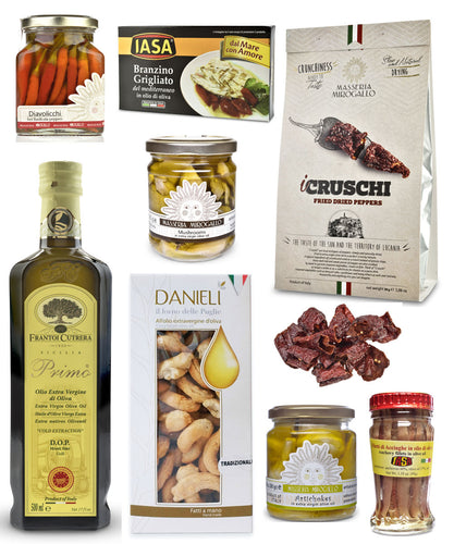 Antipasti Party Gift Basket
