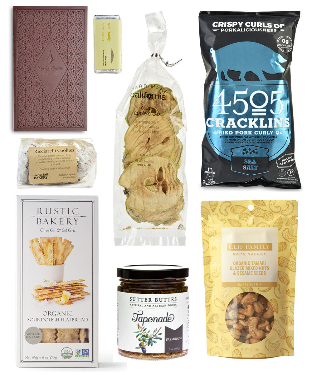 Golden State of Mind Gift Basket