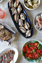 Antipasti featuring IASA spicy anchovies