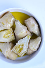 Masseria Mirogallo Artichoke Hearts in Olive Oil - Outside of the Jar