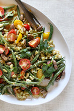 French Bean Salad Made with Rancho Gordo Flageolet Beans
