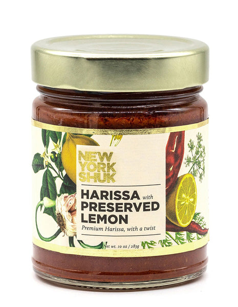 Harissa with Preserved Lemon from New York Shuk
