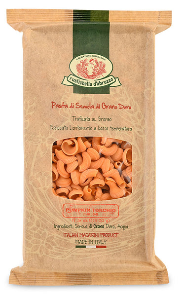 Pumpkin Torchio Pasta from Rustichella d'Abruzzo – packaging