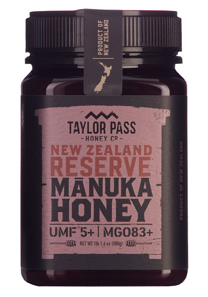 Manuka Honey UMF 5+ from Taylor Pass Honey Co