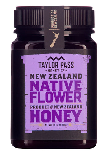 Native Flower Honey from Taylor Pass Honey Co