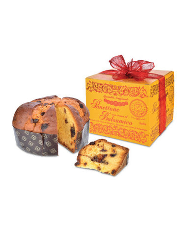 Panettone with Balsamic Cream from Acetaia Leonardi
