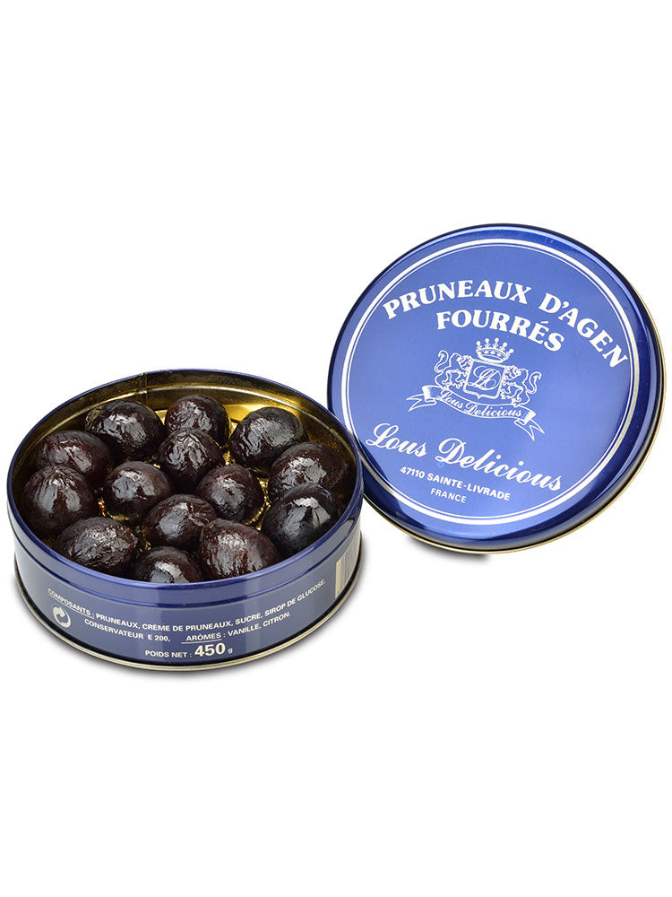 Stuffed Agen Prunes Gift Tin from France