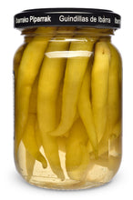 Organic Spanish Piparras Peppers from Aintzia - Back of Jar