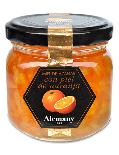 Honey with Candied Orange Peel from Alemany of Spain