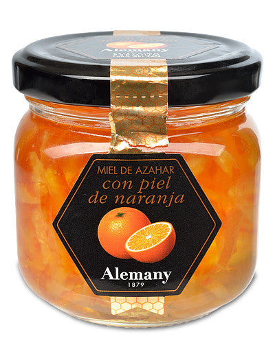 Honey with Candied Orange Peel from Alemany Mel y Turrón