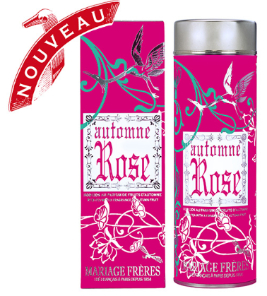 Automne Rose Rooibos Tea by Mariage Frères